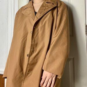 Idnina Bitola Vintage trench coat womens 54 euc